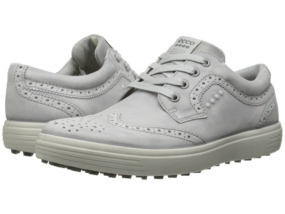 ECCO Golf Casual Hybrid Wingtip (Concrete) Men