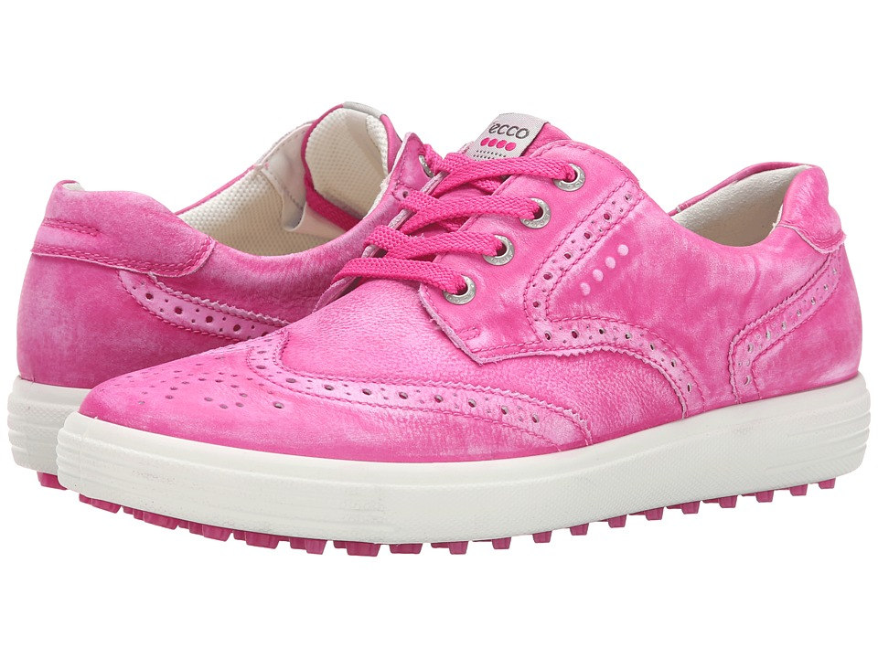 ECCO Golf Casual Hybrid Wingtip (Candy) Women