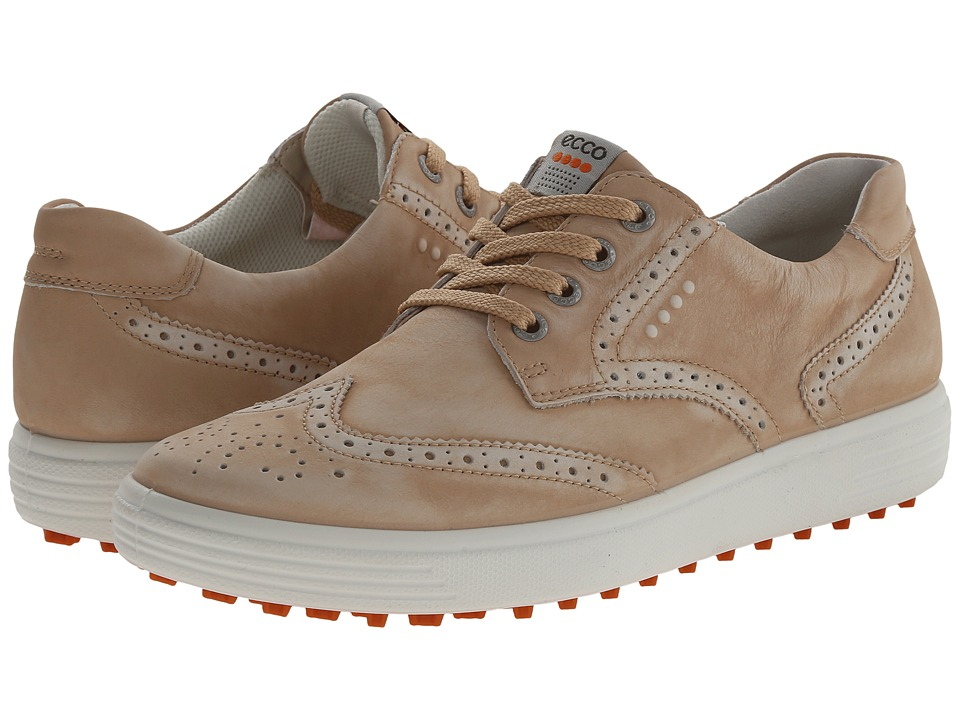 ECCO Golf Casual Hybrid Wingtip (Sesame) Women
