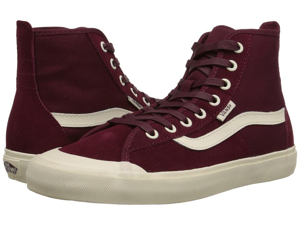 Vans - Dazie-Hi ((Surf Floral) Cnl/Windsor Wine) Women's Shoes