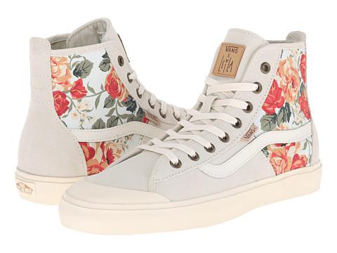 Vans - Dazie-Hi ((Leila) Cnl/Off White Floral) Women