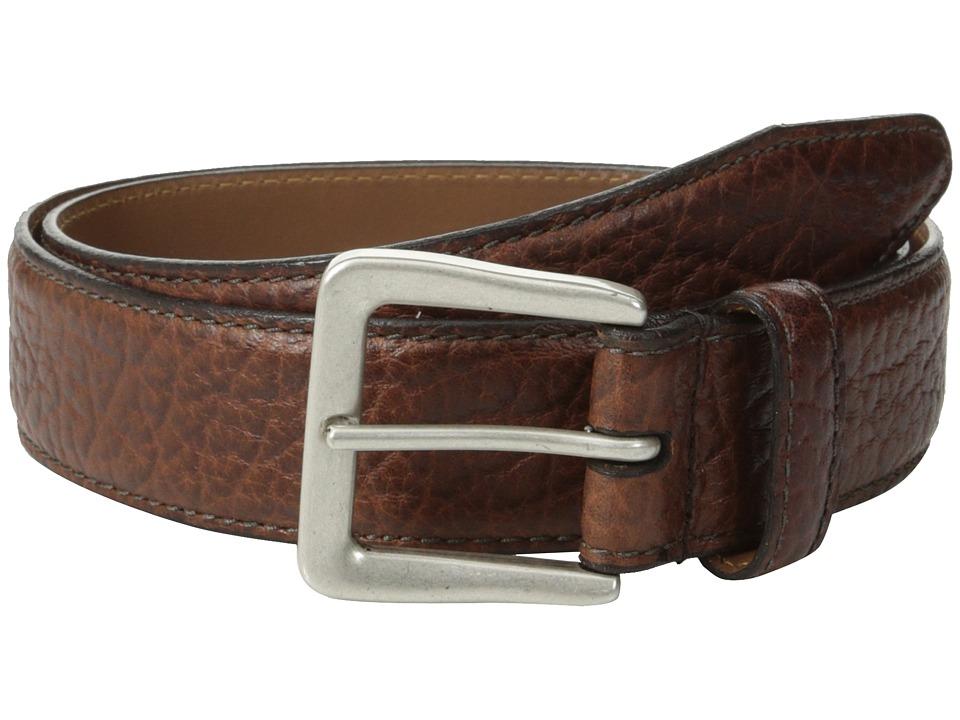 Allen-Edmonds - Ewing Ave (Brown Pebble) Men's Belts