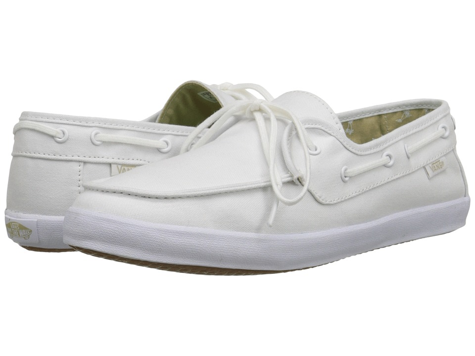 Vans - Chauffette (True White/Palms) Women's Shoes