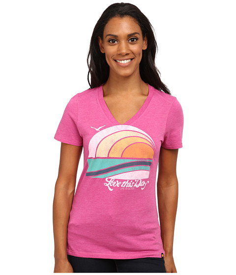 Life is good - Cool Vee (Hot Fuchsia) Women