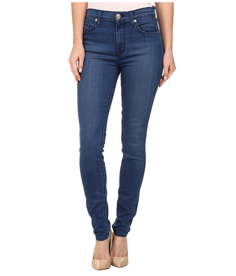 Hudson - Barbara High Waist Super Skinny Jeans in Superior (Superior) Women