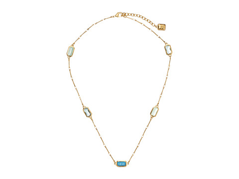 LAUREN by Ralph Lauren - Bonaire 18 Set Stone Illusion w/ Lobster Closure Necklace (Light Multi/Gold) Necklace