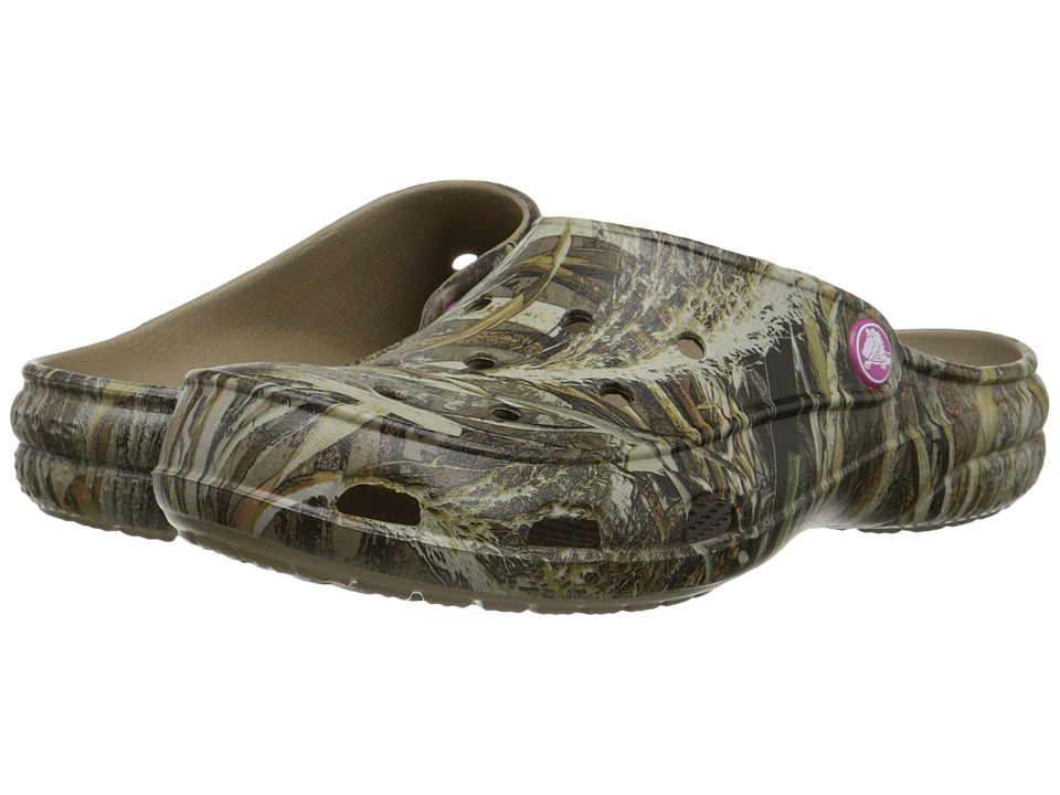 Crocs - Freesail Realtree Xtra (Khaki) Women's Shoes