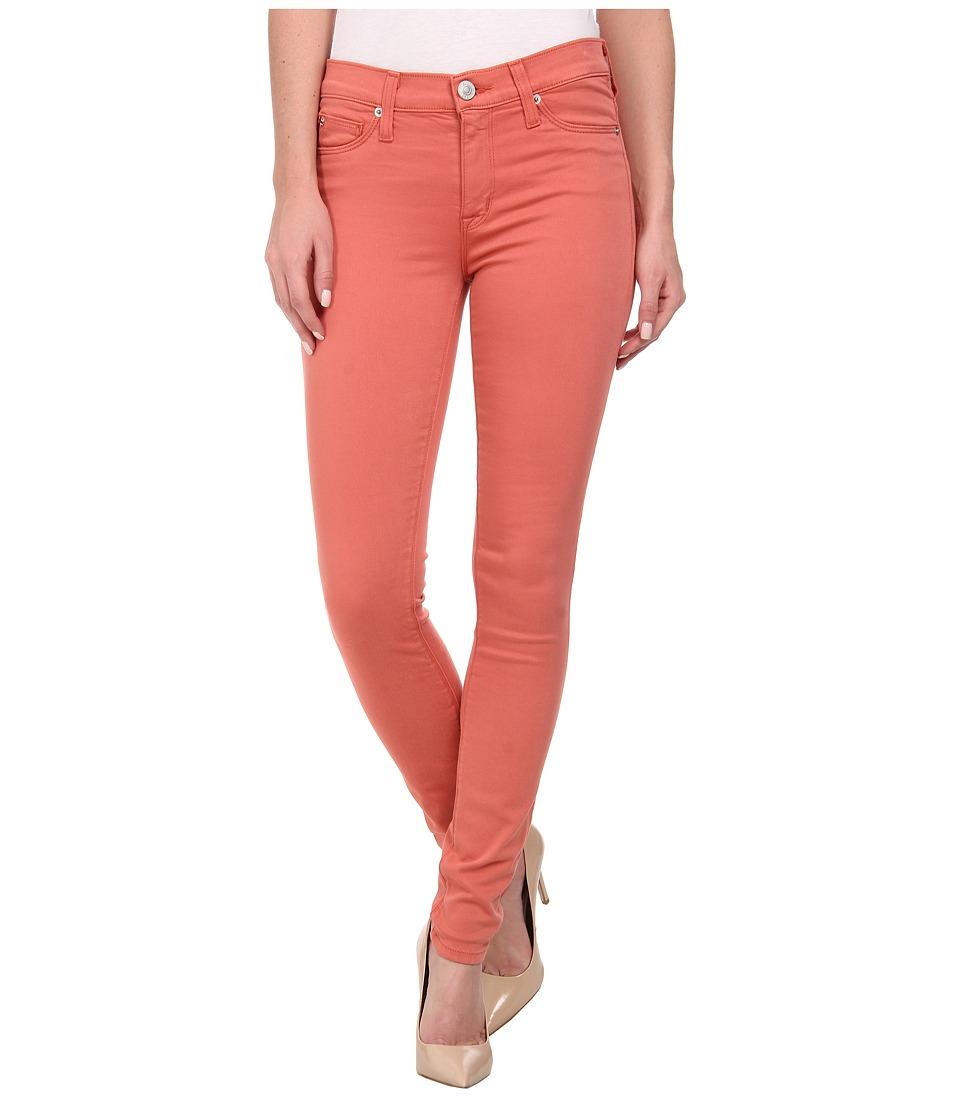 Hudson - Nico Super Skinny Mid Rise Jeans in California Poppy (California Poppy) Women's Jeans