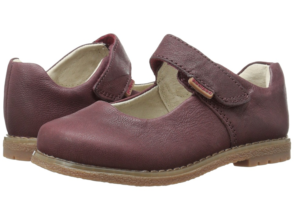 pediped - Ann Flex (Toddler/Little Kid/Big Kid) (Oxblood) Girl's Shoes