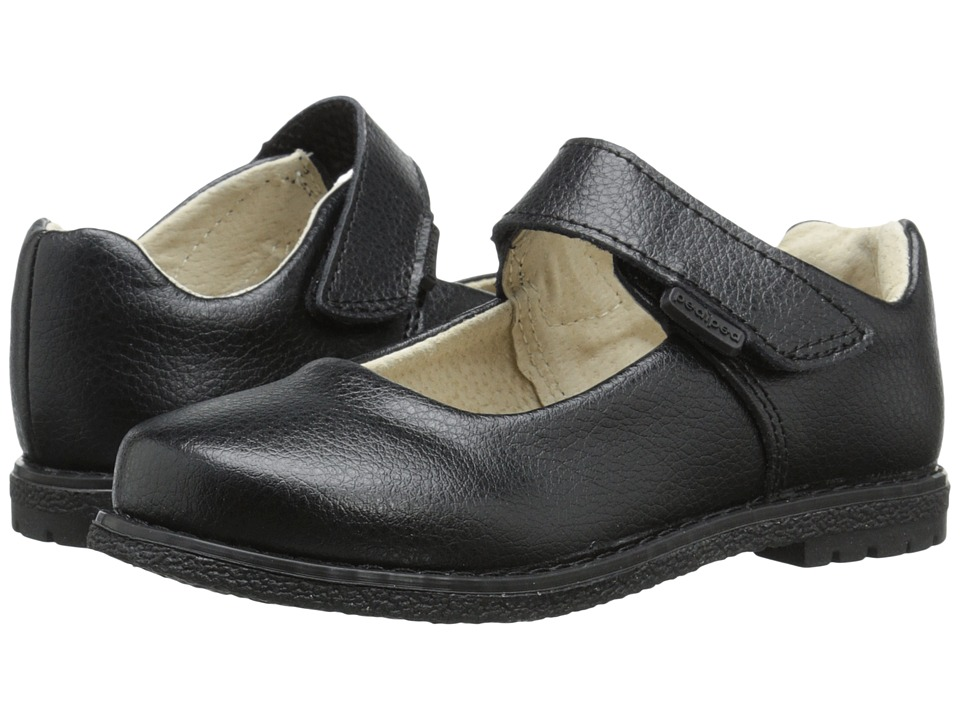 pediped - Ann Flex (Toddler/Little Kid/Big Kid) (Black) Girl's Shoes