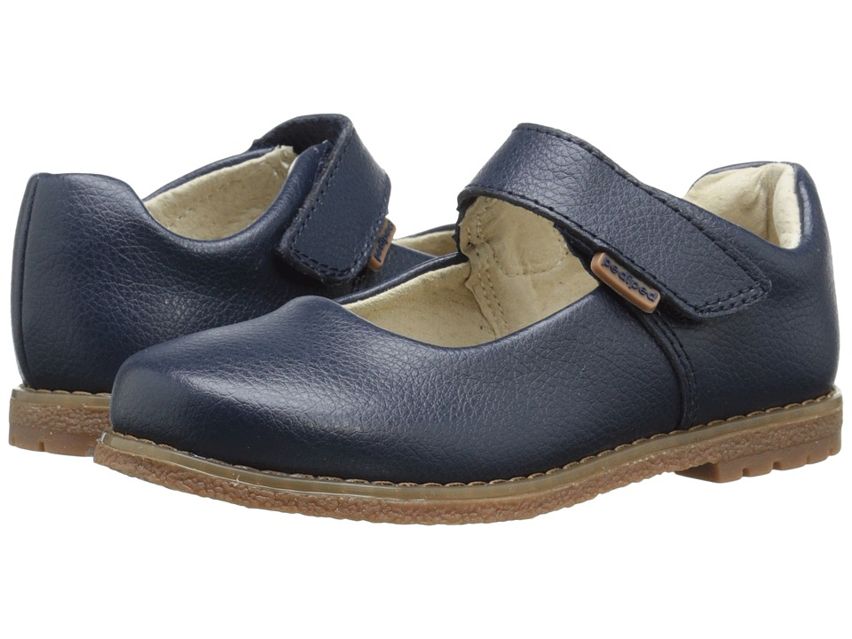 pediped - Ann Flex (Toddler/Little Kid/Big Kid) (Navy) Girl's Shoes