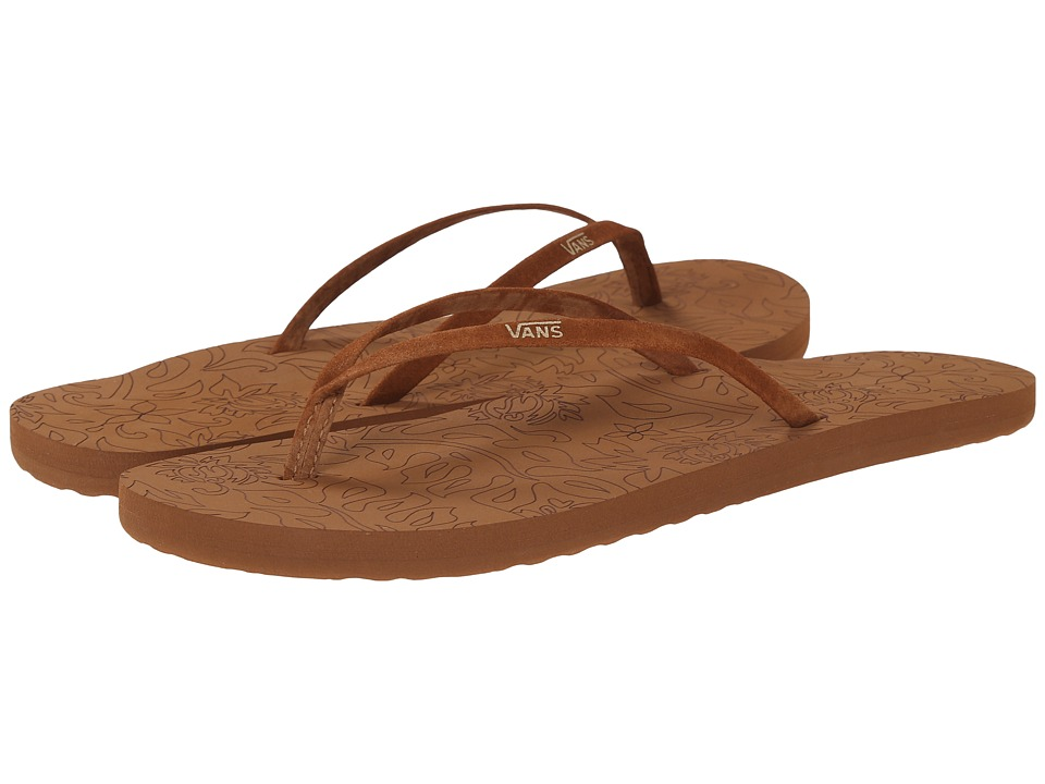 Vans - Malta LUX (Chipmunk) Women's Sandals