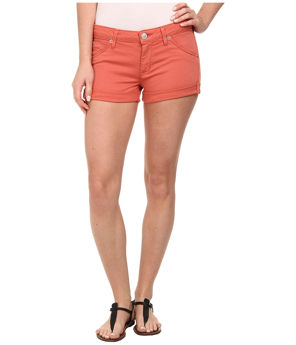 Hudson - Hampton Cuffed Shorts in California Poppy (California Poppy) Women's Shorts