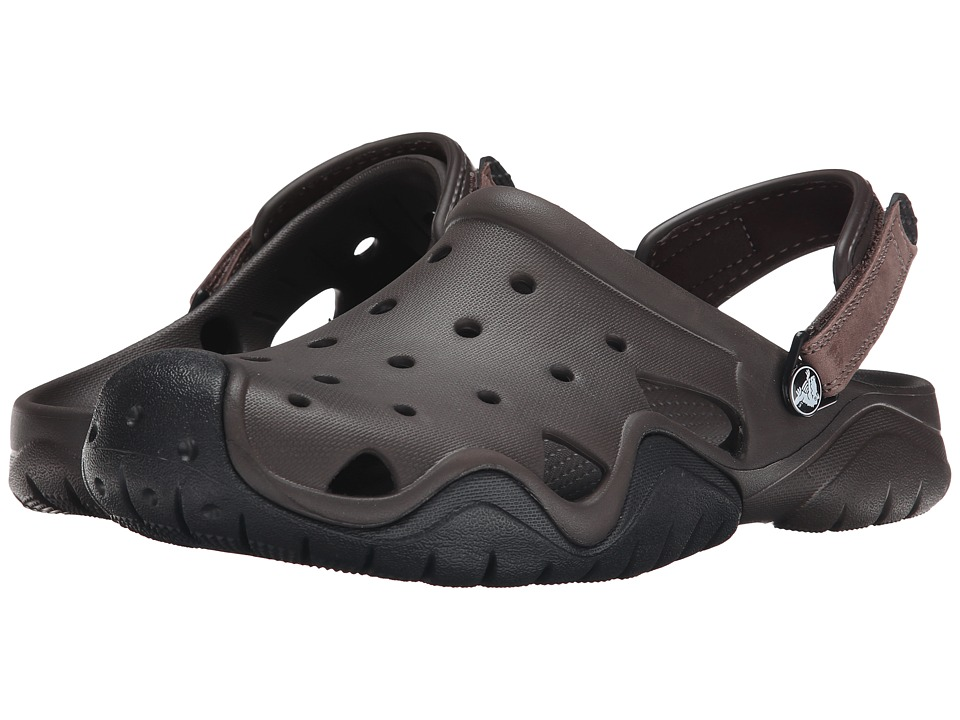 Crocs Swiftwater Clog (Espresso/Black) Men