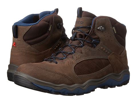 ECCO Sport - Ulterra Mid GORE-TEX (Coffee/Coffee/Denim Blue) Men