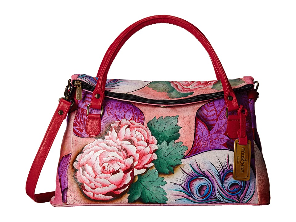 Anuschka Handbags - 527 (Rosy Reverie) Handbags