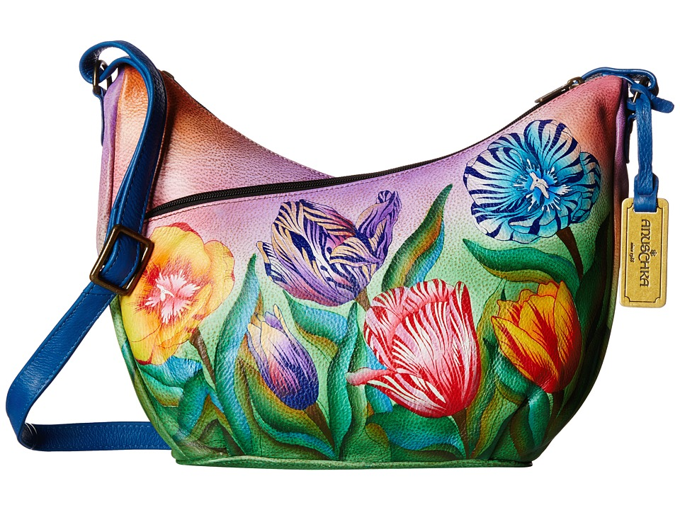 Anuschka Handbags - 518 (Turkish Tulips) Cross Body Handbags