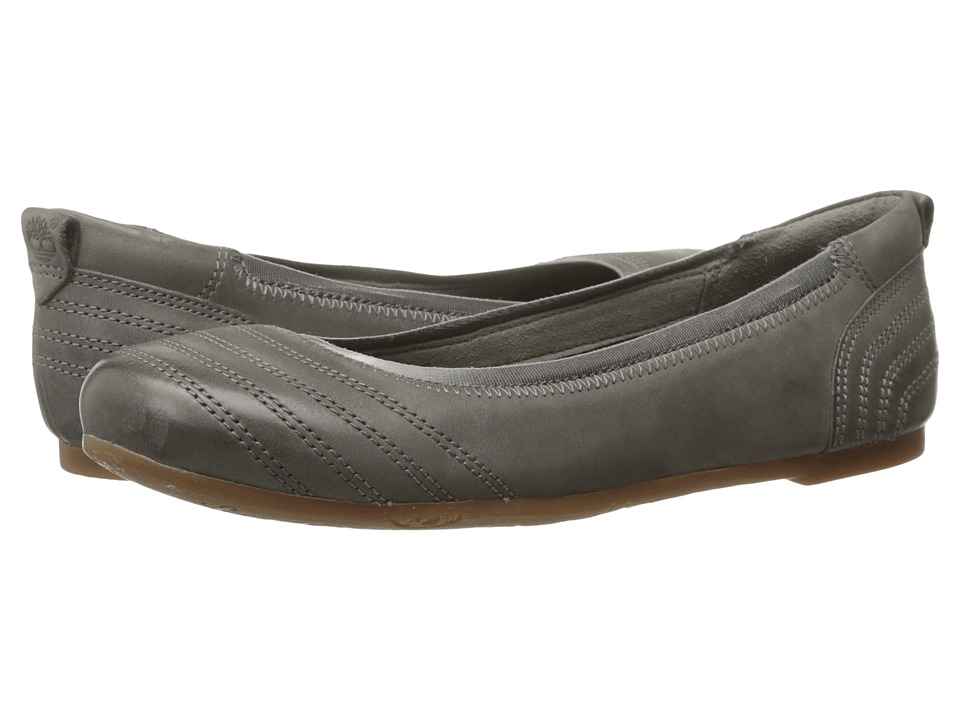 Timberland - Earthkeepers Ellsworth Ballerina (Warm Grey Nubuck) Women's Flat Shoes