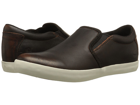 Timberland - Glastenbury Slip-On (Medium Brown) Women's Slip on Shoes