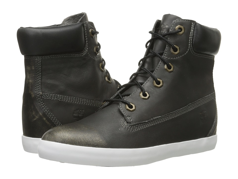 Timberland - Glastenbury 6 Lace Boot (Black Smooth) Women