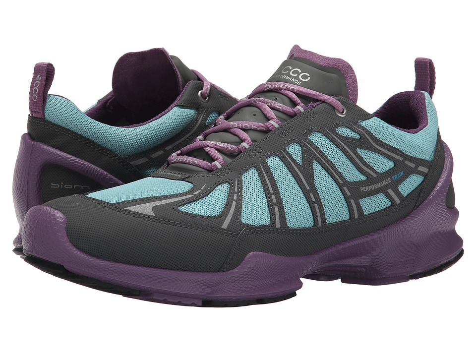ECCO Sport - Biom Train (Dark Shadow/Aquatic) Women's Running Shoes
