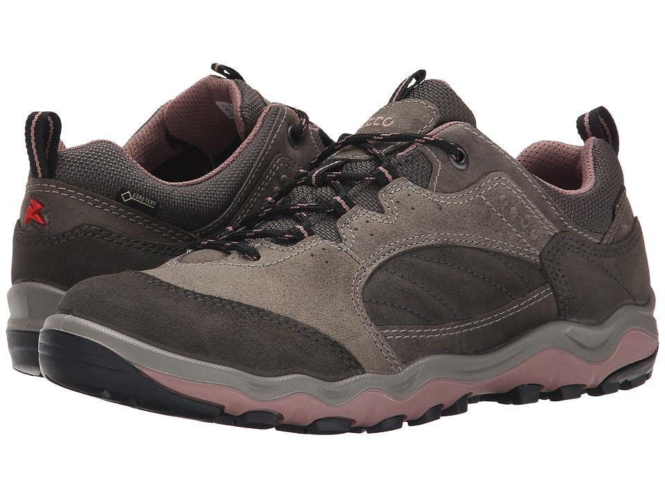 Ecco Performance - Ulterro Lo GTX (Dark Shadow/Dark Shadow/Woodrose) Women's Shoes