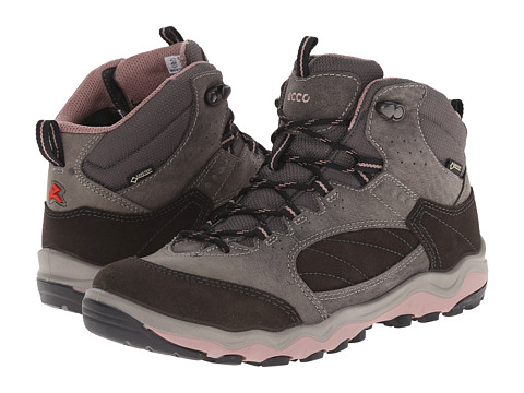 ECCO Sport - Ulterra Mid GORE-TEX (Dark Shadow/Dark Shadow/Woodrose) Women