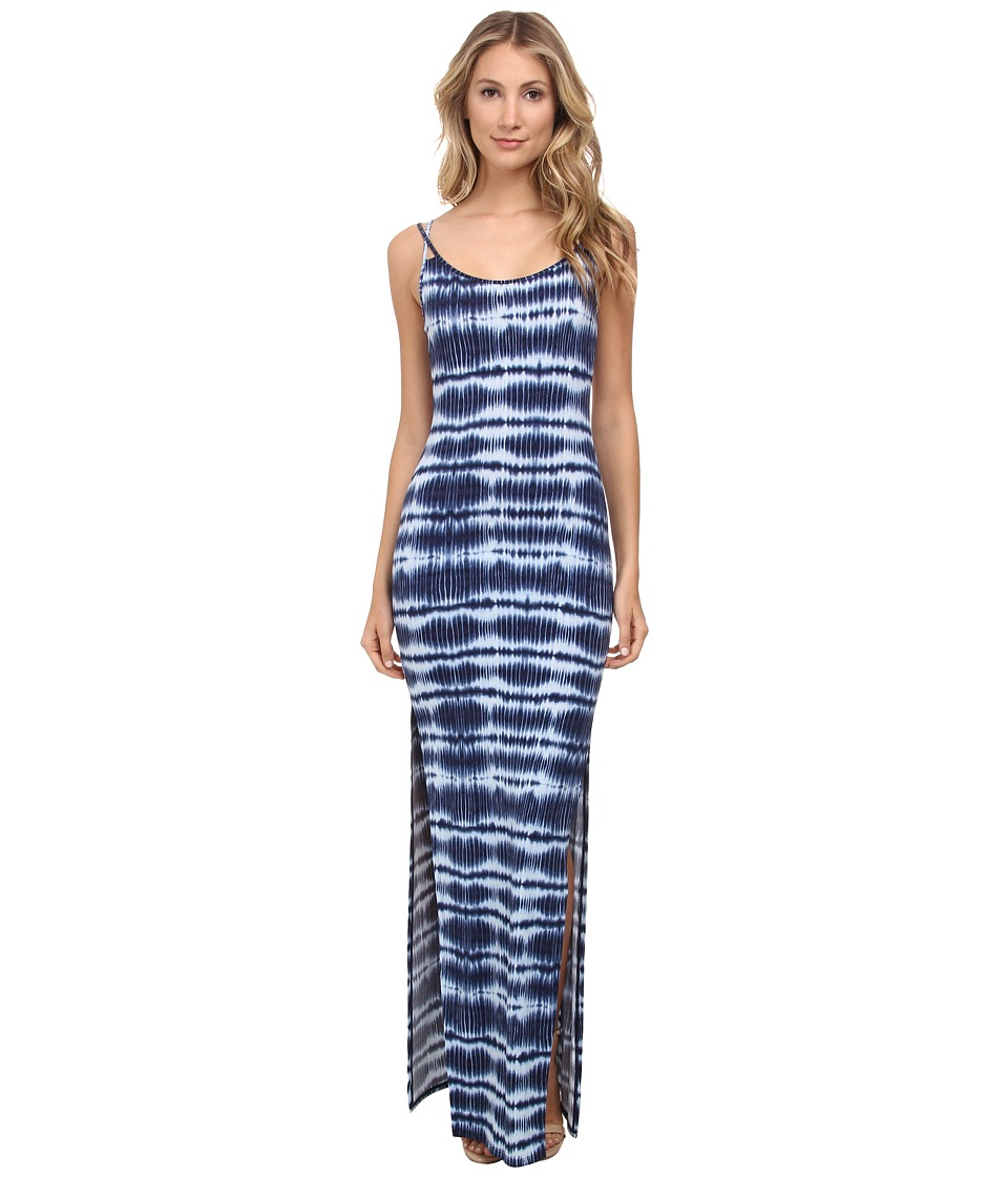 BCBGeneration Maxi Strappy Bodycon Dress (Darvewave Combo) Women