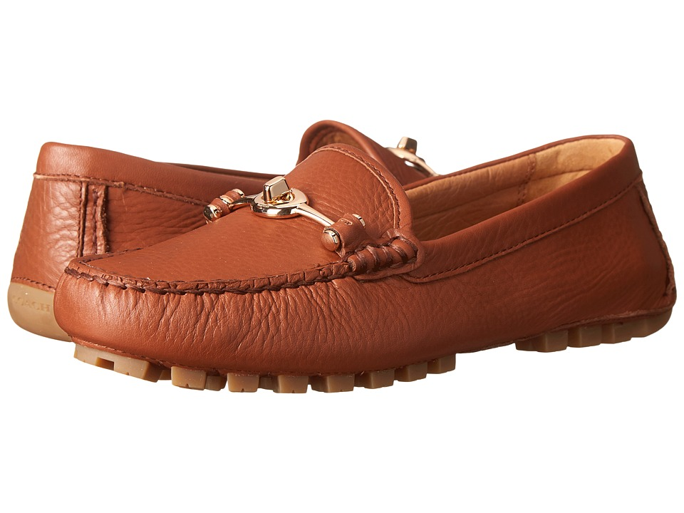 COACH Arlene (Saddle Pebble Grain Leather) Women