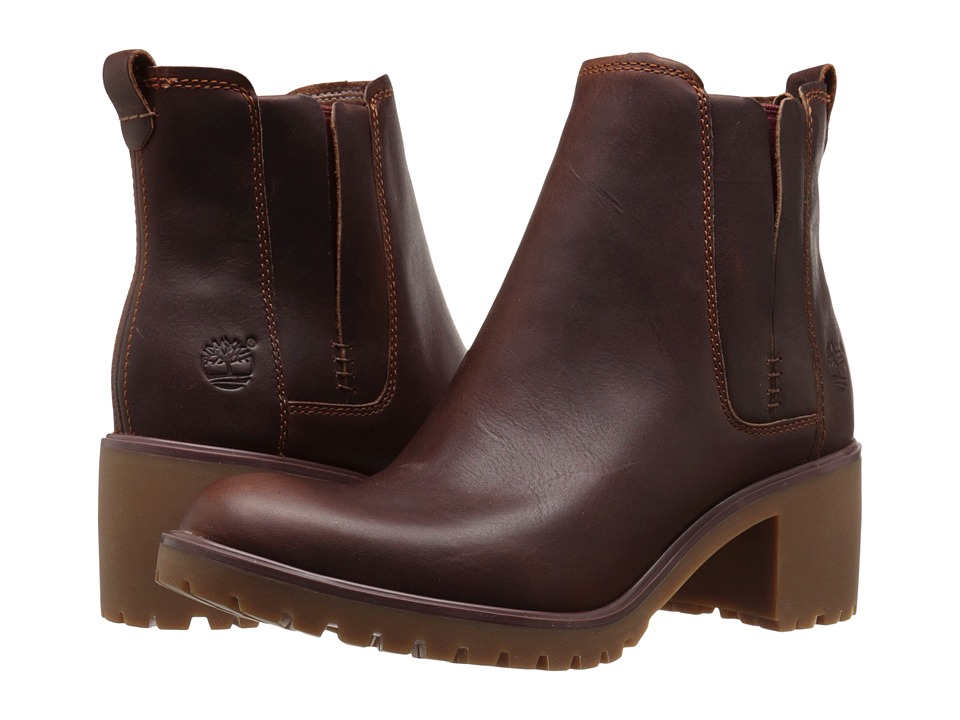Timberland - Averly Chelsea (Cognac Forty Leather) Women