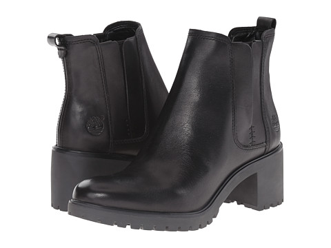 Timberland - Averly Chelsea (Black Smooth) Women's Boots