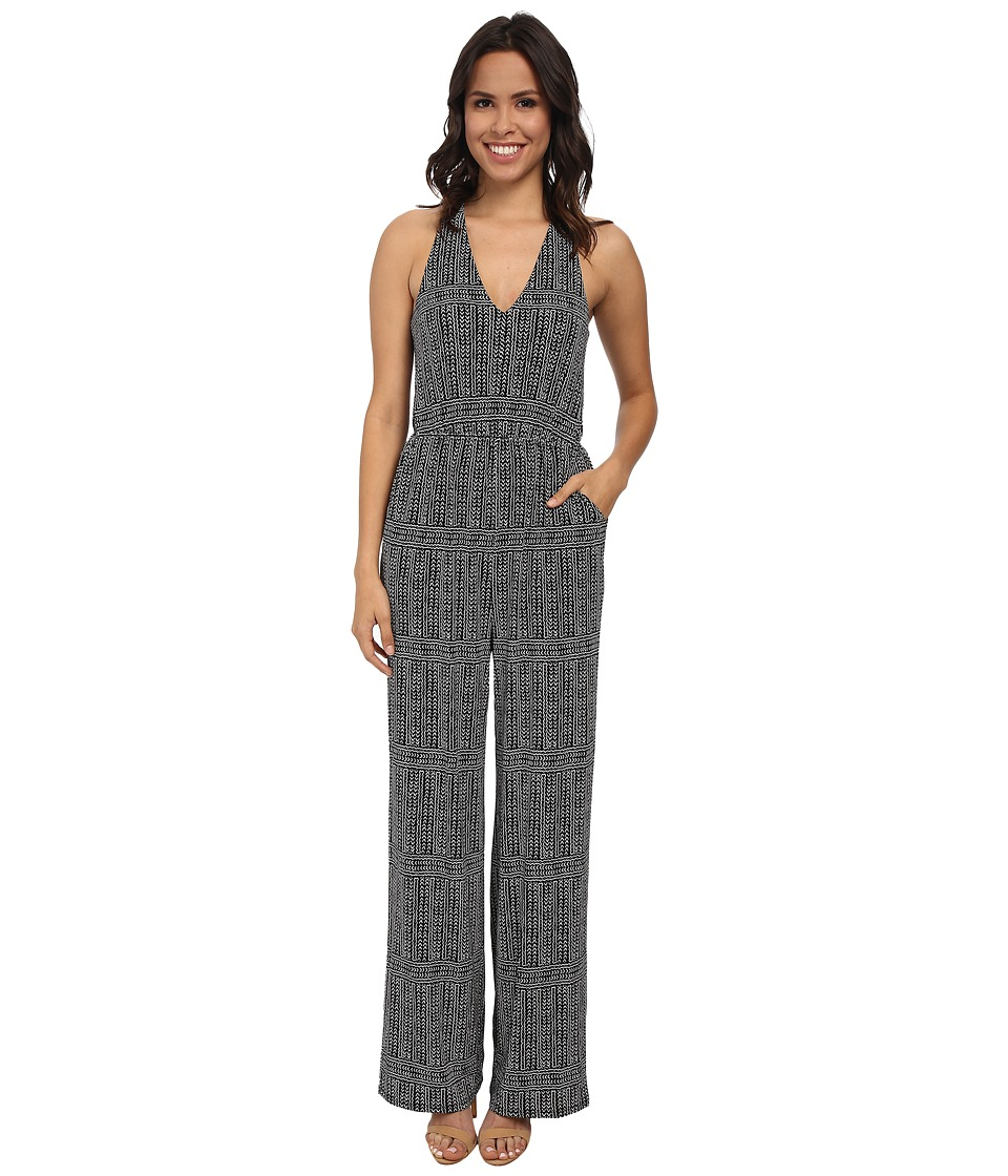 BCBGeneration - Jumpsuit (Black Combo) Women's Jumpsuit & Rompers One Piece