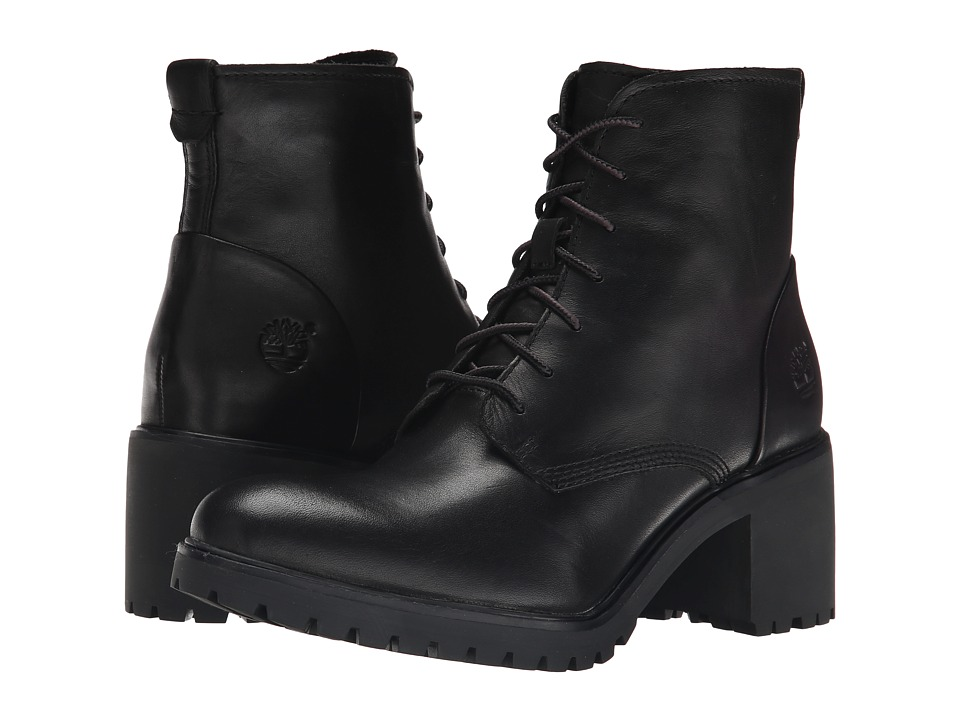 Timberland - Averly Lace Chukka (Black Smooth) Women