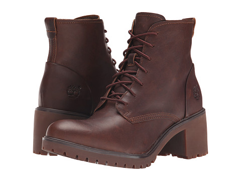 Timberland - Averly Lace Chukka (Dark Brown Forty Leather) Women