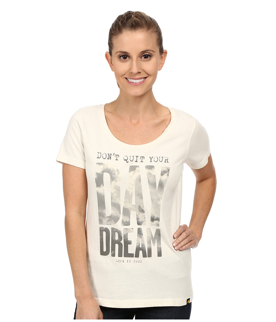 Life is good Creamy Scoop Tee (Simply Ivory 2) Women