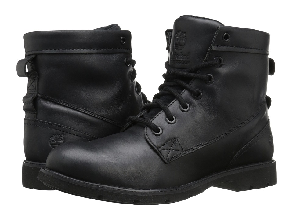 Timberland Bramhall 6 Lace-Up Waterproof Boot (Black Euroveg) Women