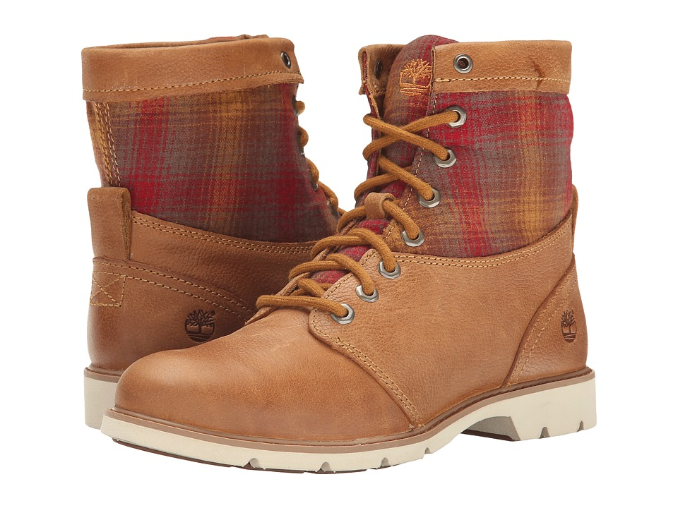 Timberland - Bramhall Fabric and Leather 6 (Wheat Woodlands/Red Pendleton Wool) Women
