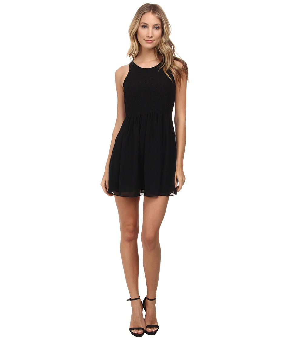 BCBGeneration - Laser Cut Dress (Black) Women's Dress