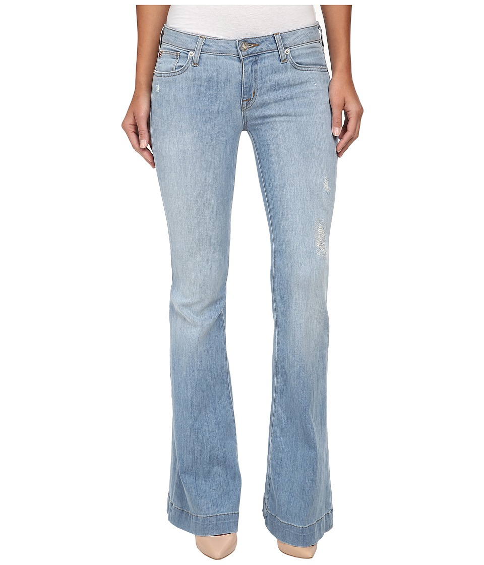 Hudson - Ferris Flap Flare Jeans in Mulholland (Mulholland) Women's Jeans