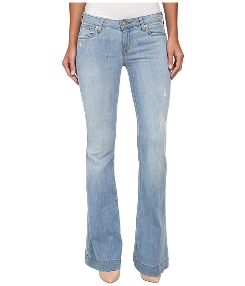 Hudson - Ferris Flap Flare Jeans in Mulholland (Mulholland) Women
