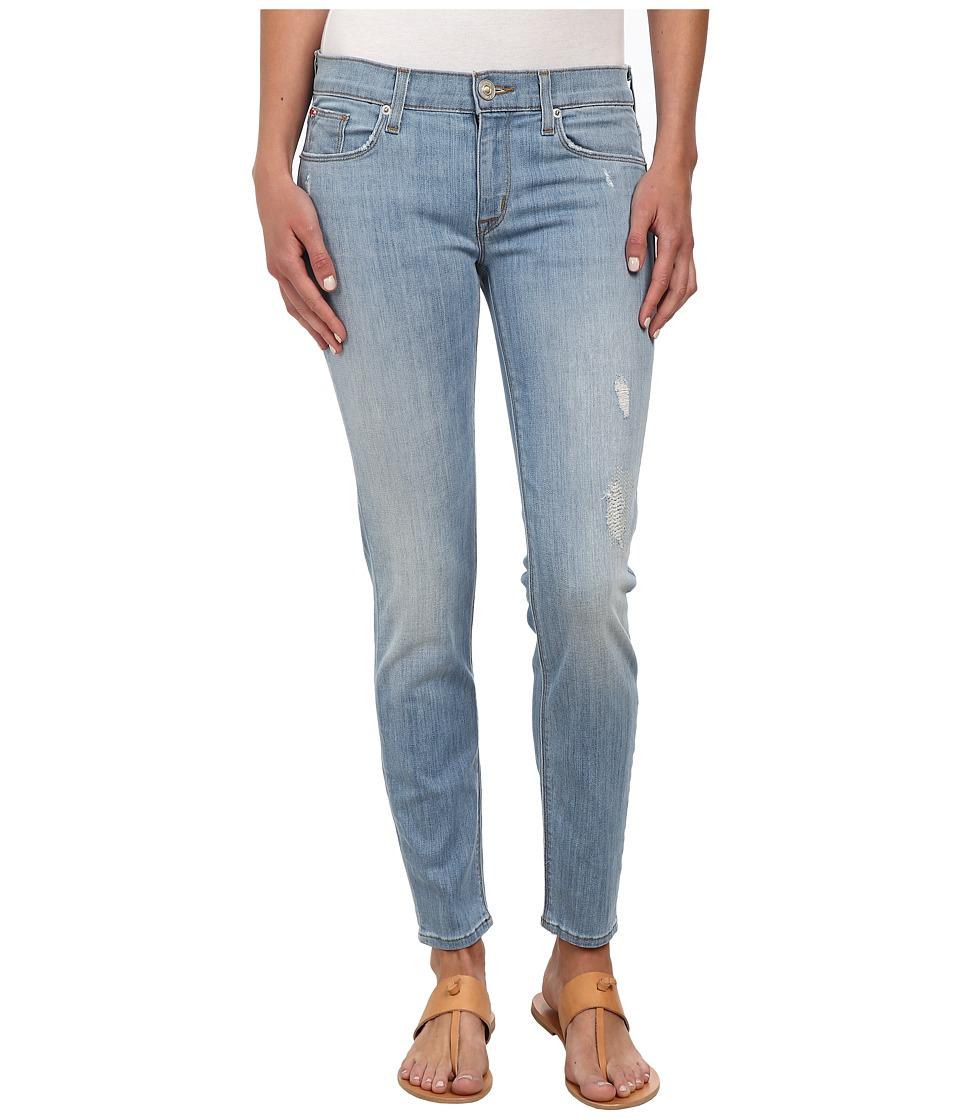 Hudson - Krista Super Skinny Crop Jeans in Mulholland (Mulholland) Women