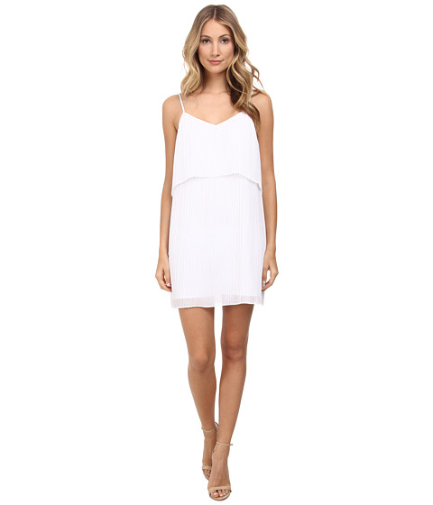 BCBGeneration - Pleat Dress (Optic White) Women