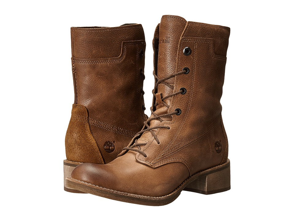 Timberland - Whittemore Mid Lace Boot (Raw Hide Woodlands) Women's Boots
