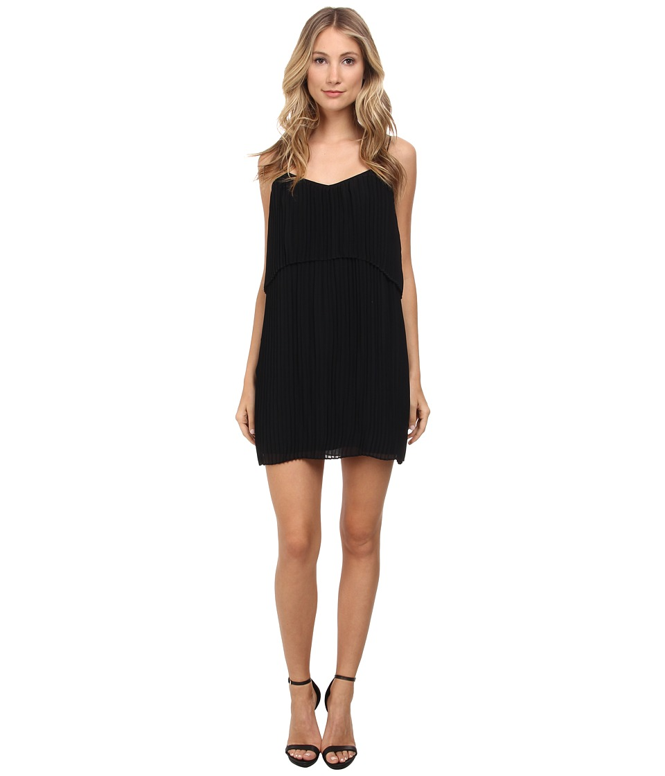 BCBGeneration Pleat Dress (Black) Women