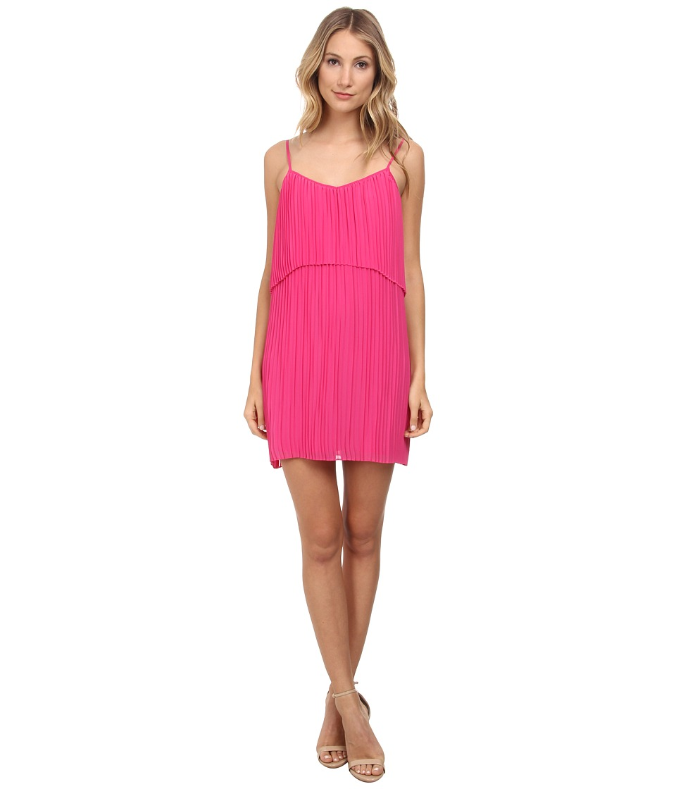 BCBGeneration - Pleat Dress (Wild Rose) Women
