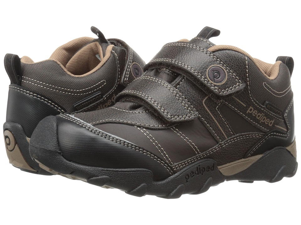 pediped - Max Flex (Toddler/Little Kid) (Chocolate) Boys Shoes