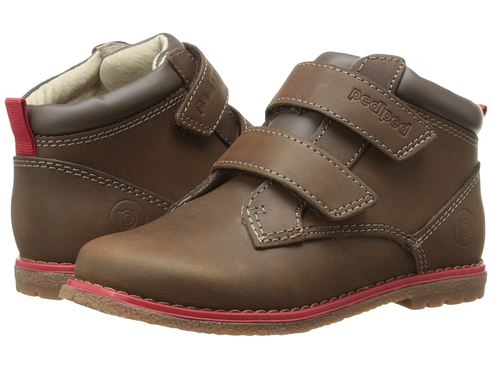 pediped - Lionel Flex (Toddler/Little Kid) (Chocolate) Boy's Shoes