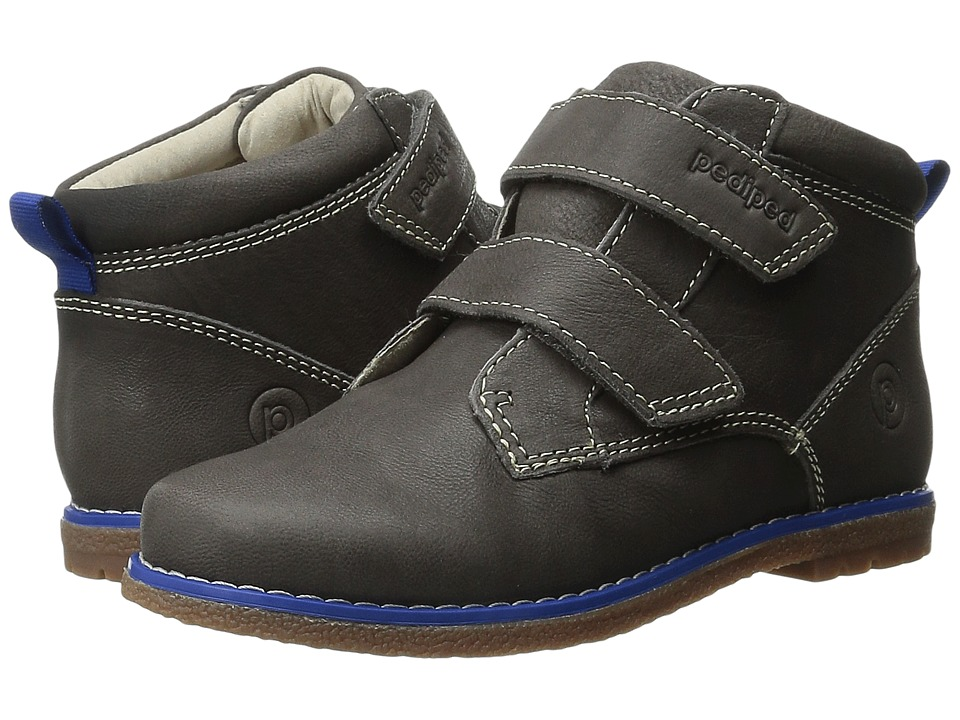 pediped - Lionel Flex (Toddler/Little Kid) (Charcoal) Boy's Shoes
