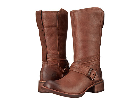 Timberland - Whittemore Mid Side Zip Boot (Dark Brown Woodlands) Women