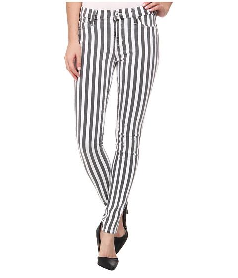 Hudson - Nico Super Skinny Mid Rise Jeans in City Stripe (City Stripe) Women's Jeans